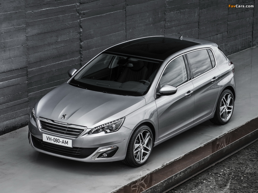 Images of Peugeot 308 2013 (1024 x 768)