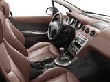 Peugeot 308 3-door 2007–10 wallpapers
