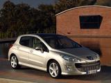 Peugeot 308 Premium Pack 2008–11 images
