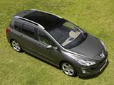 Peugeot 308 SW 2008–11 photos