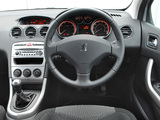 Peugeot 308 5-door UK-spec 2008–11 photos