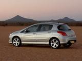 Peugeot 308 Premium Pack 2008–11 pictures