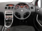 Peugeot 308 SW ZA-spec 2008–10 pictures