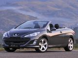 Peugeot 308 CC ZA-spec 2009–11 images