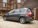 Peugeot 308 SW UK-spec 2011–14 pictures