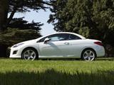 Peugeot 308 CC UK-spec 2011 pictures