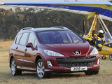 Photos of Peugeot 308 SW ZA-spec 2008–10