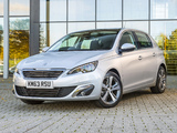 Photos of Peugeot 308 UK-spec 2013
