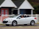 Pictures of Peugeot 308 CC UK-spec 2009–11