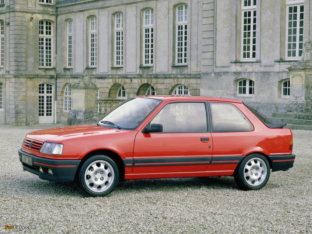 Images of Peugeot 309 GTi 1986–89 (1024 x 768)