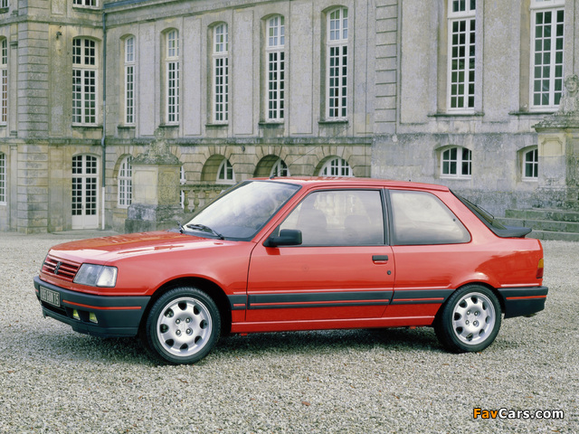 Images of Peugeot 309 GTi 1986–89 (640 x 480)