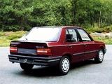 Peugeot 309 5-door 1985–89 pictures