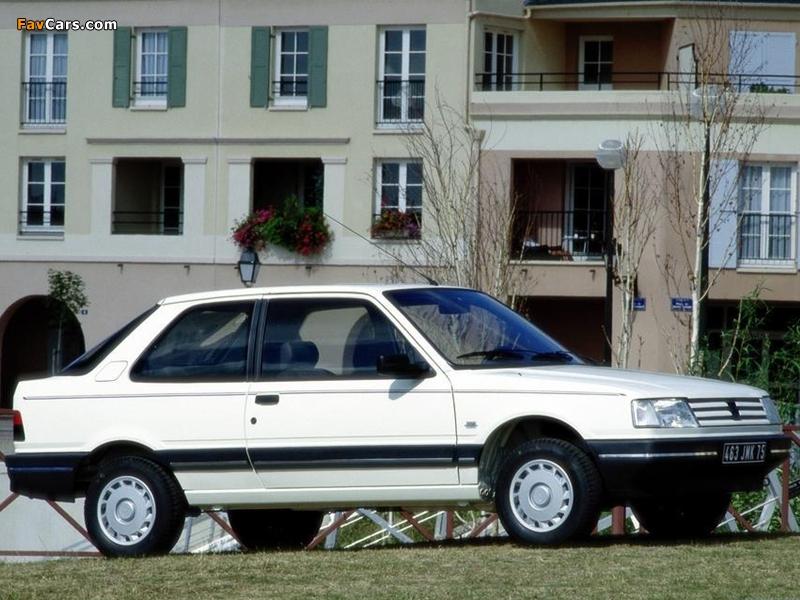 Photos of Peugeot 309 3-door 1989–93 (800 x 600)