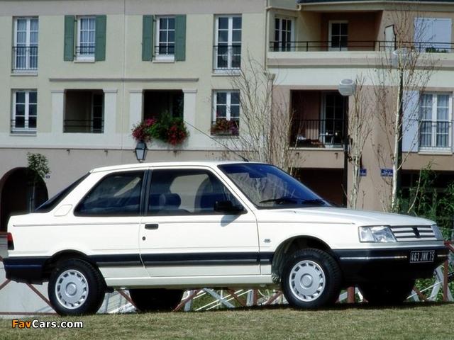 Photos of Peugeot 309 3-door 1989–93 (640 x 480)