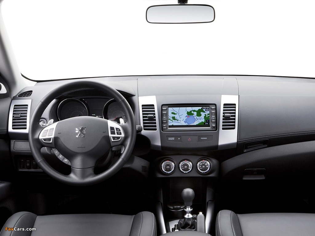 Images of Peugeot 4007 2007 (1024 x 768)