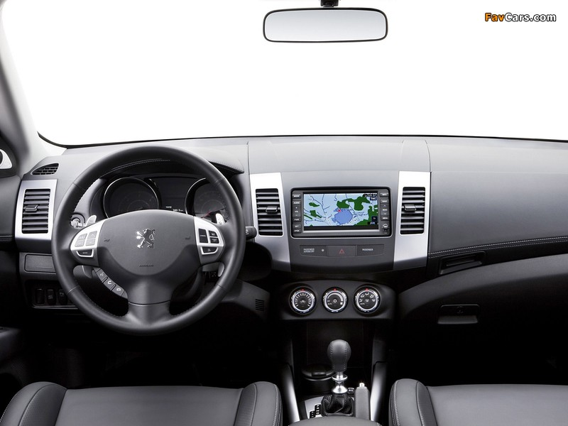 Images of Peugeot 4007 2007 (800 x 600)