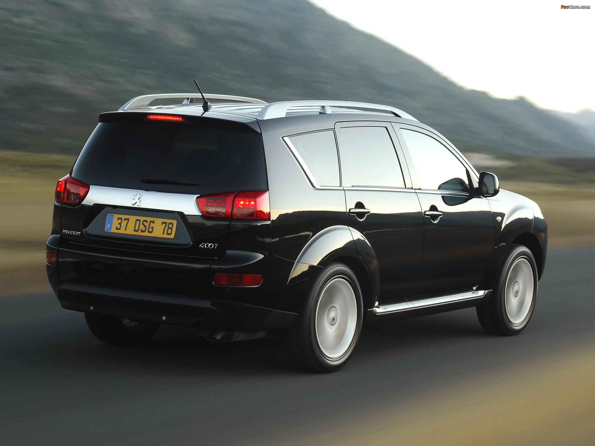 Peugeot 4007 2007 photos (2048 x 1536)