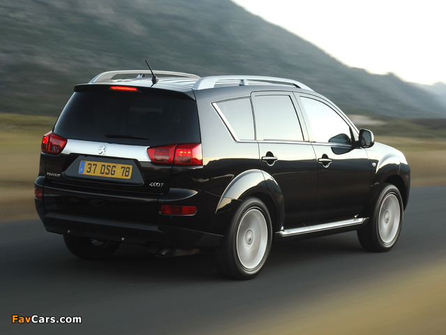 Peugeot 4007 2007 photos (640 x 480)