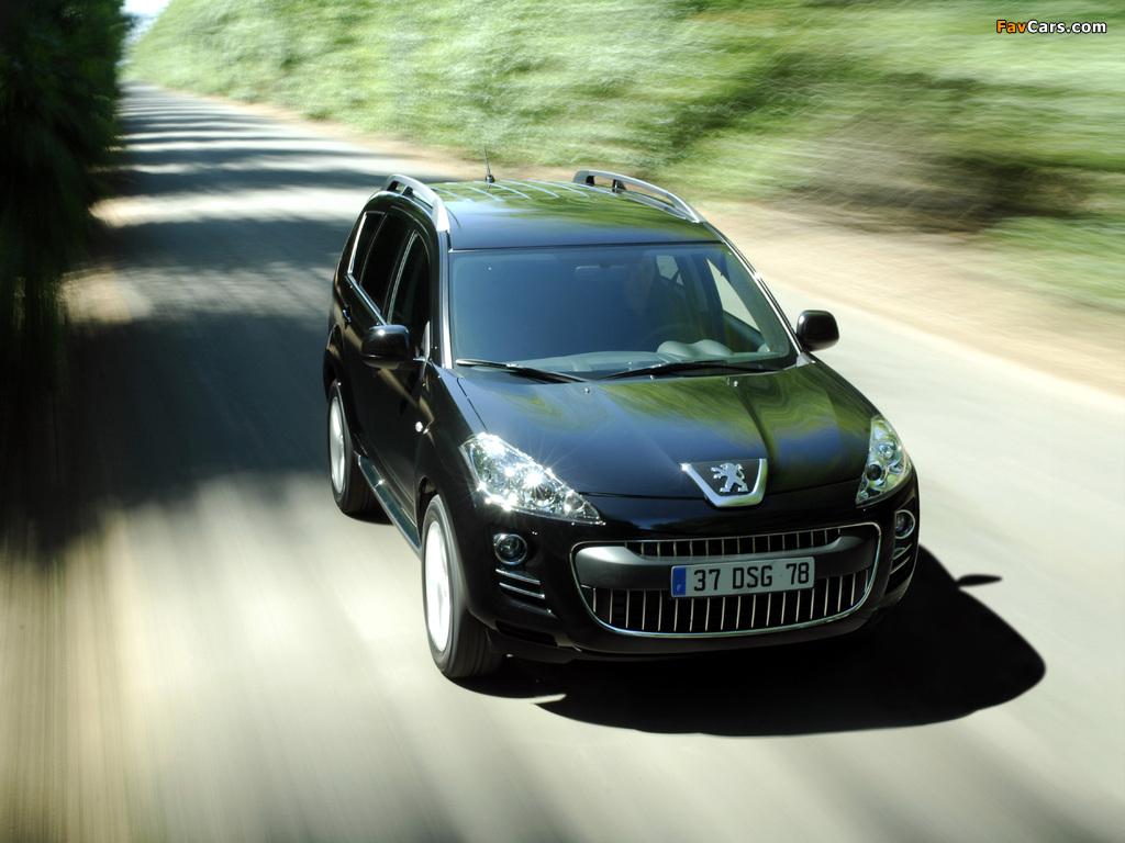 Peugeot 4007 2007 pictures (1024 x 768)