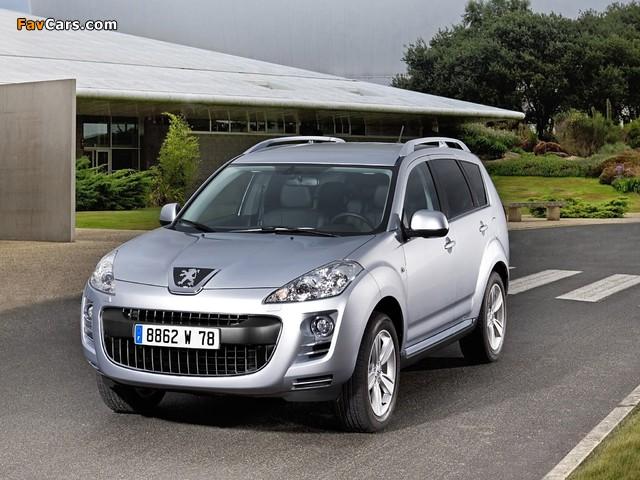 Photos of Peugeot 4007 2007 (640 x 480)