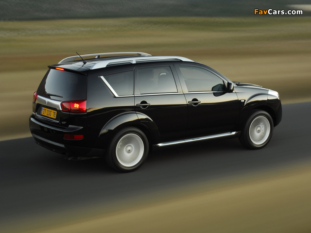 Pictures of Peugeot 4007 2007 (640 x 480)