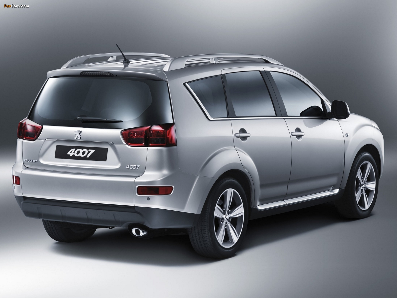 Pictures of Peugeot 4007 2007 (1600 x 1200)