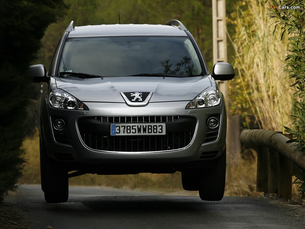 Pictures of Peugeot 4007 2007 (1024 x 768)