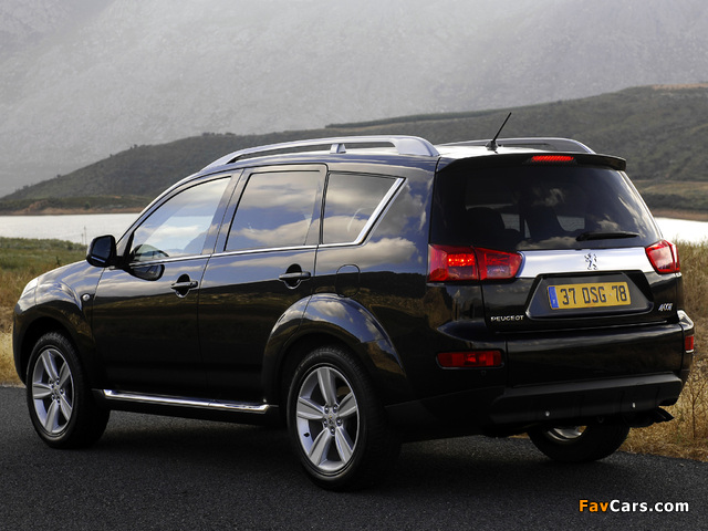 Peugeot 4007 2007 wallpapers (640 x 480)