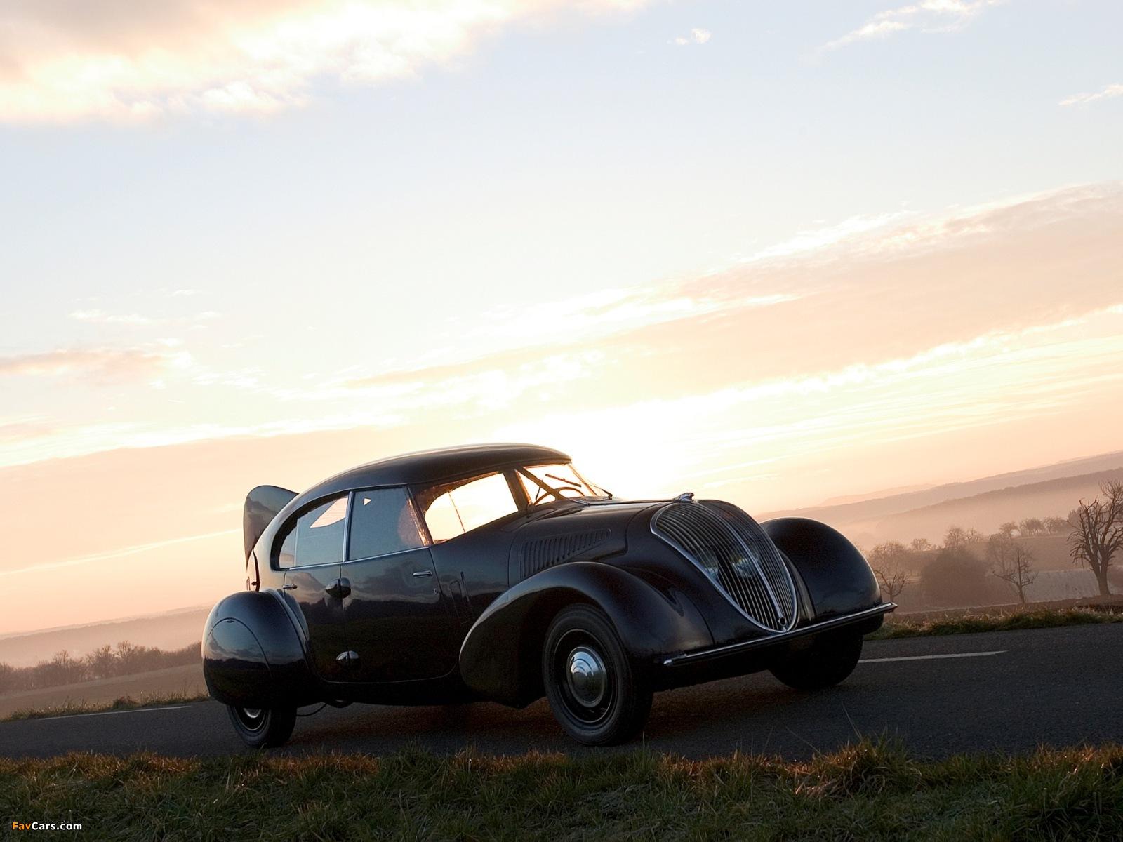 Peugeot 402 Andreau 1936–37 photos (1600 x 1200)