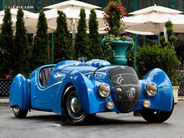 Peugeot 402 Darlmat Special Sport Roadster 1937–38 wallpapers (640 x 480)