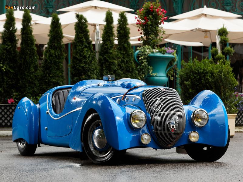 Peugeot 402 Darlmat Special Sport Roadster 1937–38 wallpapers (800 x 600)