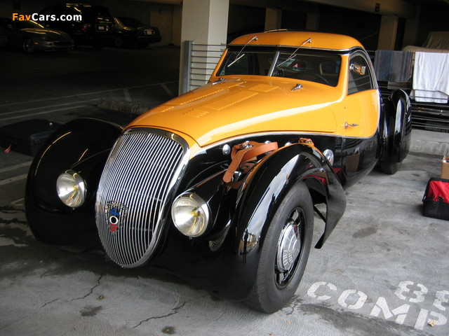 Pictures of Peugeot 402 Darlmat Pourtout Coupe 1938 (640 x 480)