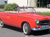 Peugeot 403 Cabrio 1956–61 pictures