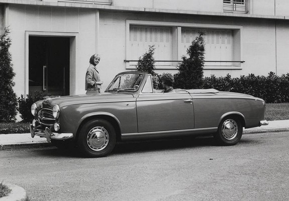 Gemeinsame Pictures of Peugeot 403 Cabrio 1955–65 @AK_33