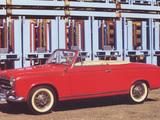 Pictures of Peugeot 403 Cabrio 1956–61