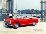 Peugeot 404 Cabriolet 1961–66 photos