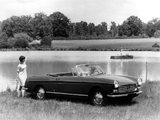 Peugeot 404 Cabriolet 1961–66 wallpapers