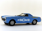 Peugeot 404 Diesel Record Car 1965 images