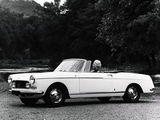 Peugeot 404 Cabriolet 1966–68 photos