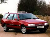 Photos of Peugeot 405 Break UK-spec 1988–96