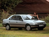 Pictures of Peugeot 405 1987–95
