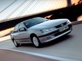 Peugeot 406 Sedan UK-spec 1999–2004 pictures