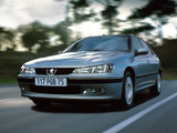 Peugeot 406 Sedan 1999–2004 wallpapers