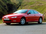 Pictures of Peugeot 406 Coupe UK-spec 1997–2003