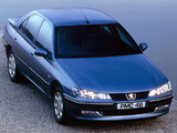 Pictures of Peugeot 406 Sedan UK-spec 1999–2004