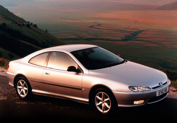 Peugeot 406 Coupe UK-spec 1997–2003 wallpapers
