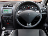 Peugeot 407 Coupé UK-spec 2005–11 images