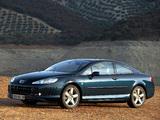 Peugeot 407 Coupe 2005–10 photos