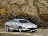 Peugeot 407 Coupe 2005–10 pictures