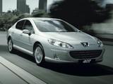 Peugeot 407 Sedan 2008–10 photos